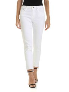 Jacob Cohën - Kimberly traight leg jeans in white