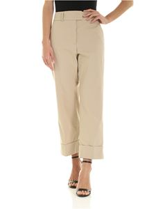 Peserico - Loose fit pants in beige
