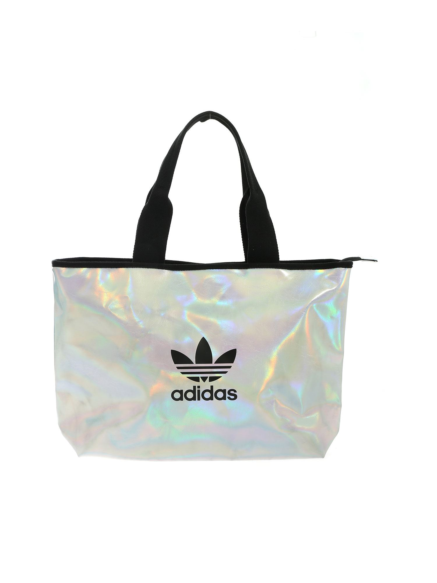 Adidas Originals ADIDAS ORIGINALS SHOPPER BAG IN SILVER