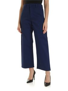 Department 5 - Wide leg trousers in blue