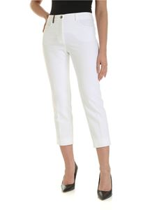 Peserico - 5 pocket trousers in white