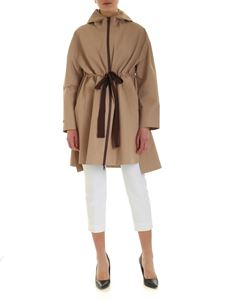 Peserico - Hooded jacket in beige