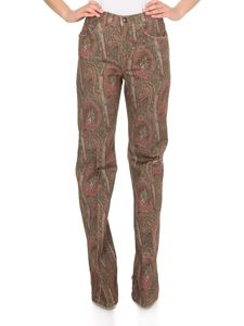 Etro - Flared jeans with paisley print