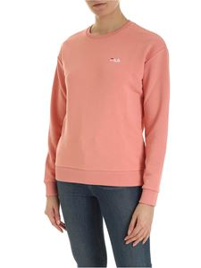 Fila - Effie sweatshirt in salmon pink with logo