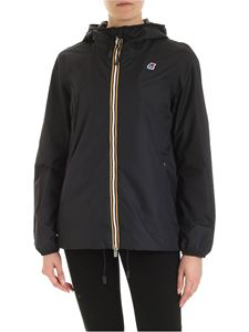 K-way - Marguerite Poly jacket in black
