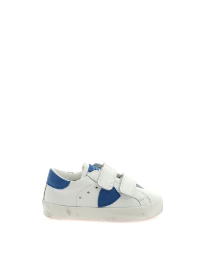 Philippe Model - Sneakers Paris Sportif bianche e blu