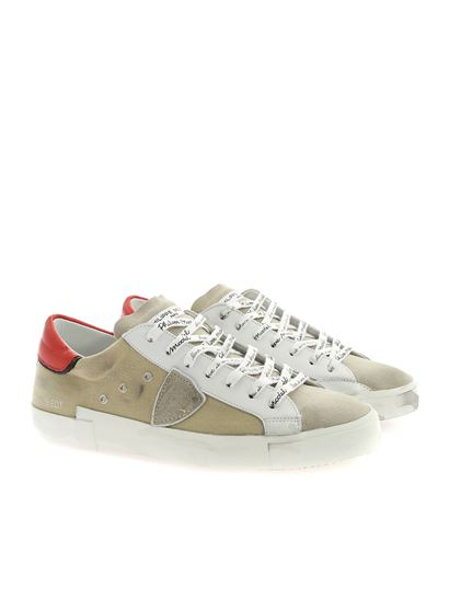 Philippe Model - PrsX sneakers in sand color