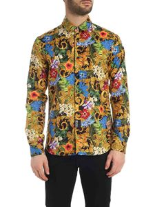 Versace Jeans Couture - Tropical Baroque print shirt