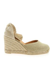 Castaner - Carina espadrilles in gold color
