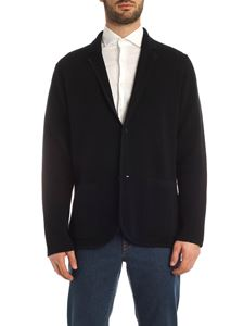 Z Zegna - Knitted cardigan in blue
