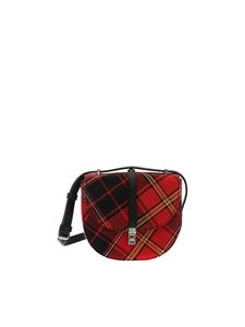 Vivienne Westwood  - Sofia multicolor  bag with check pattern