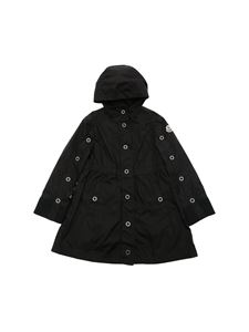 Moncler Jr - Bleuet hoodie jacket in black