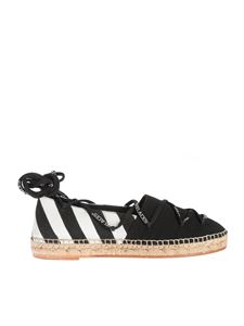 Off-White - Espadrillas Diag nere