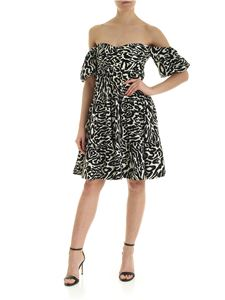 Pinko Uniqueness - Lasta dress in black and ivory color