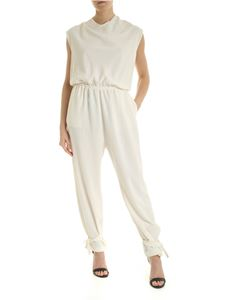 Pinko - Daitarn jumpsuit in ivory color