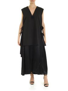 MM6 by Maison Martin Margiela - Dress with laces in black