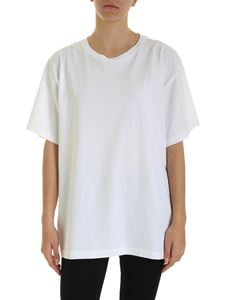MM6 Maison Margiela - Oversize T-shirt in white