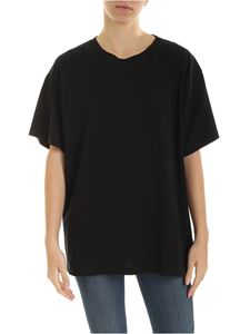 MM6 Maison Margiela - Oversize T-shirt in black