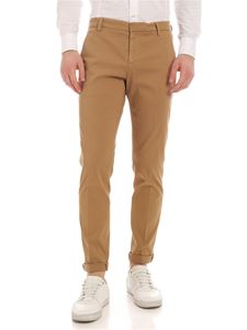 Dondup - Gaubert pants in camel color with logo