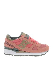 Saucony - Sneakers Shadow Oiginal rosa e argento