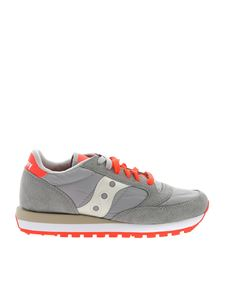 Saucony - Jazz Original sneakers in grey and orange
