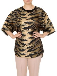 Dsquared2 - Tiger Camouflage T-shirt in beige