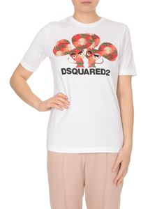 Dsquared2 - Mouses print T-shirt in white