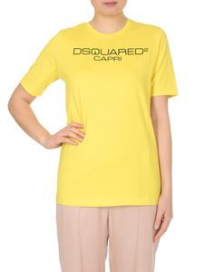 Dsquared2 - Dsquared Capri T-shirt in yellow
