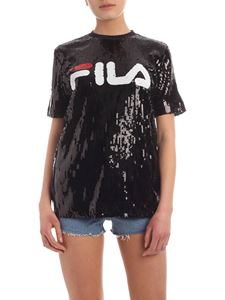 Fila - Kyo T-shirt with black sequins