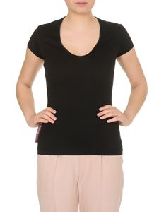 Dsquared2 - T-shirt in black with round neckline