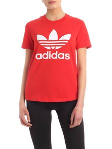 Adidas Originals - Trefoil T-shirt in red