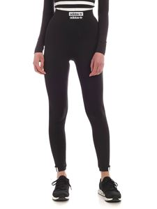 Adidas Originals - Logo leggins in black