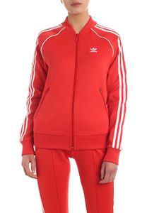 Adidas Originals - Track sweatshirt in red