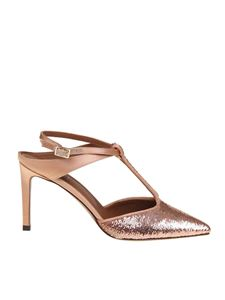 L'Autre Chose - Pointed slingbacks in pink sequins