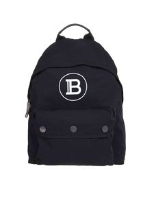 Balmain - B-Back backpack in black nylon