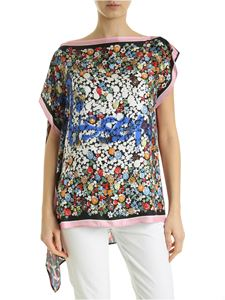 M Missoni - Tunic with multicolor floral print