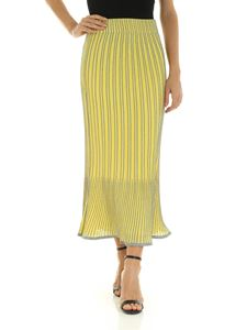 M Missoni - Yellow skirt with silver embroidery