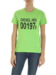 Diesel - T-Sily T-shirt in green