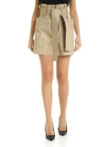 Parosh - Shorts with side pockets in beige