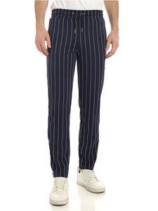 Fila - Haben stripes pants in blue