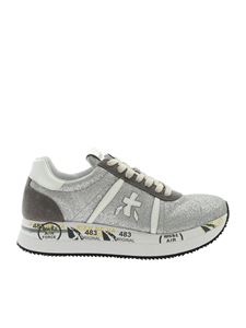 Premiata - Conny sneakers in silver color