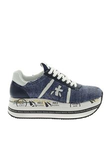 Premiata - Beth sneakers in blue and white