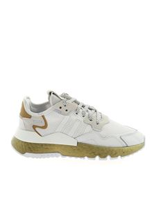 Adidas Originals - Nite Jogger sneakers in white and gold