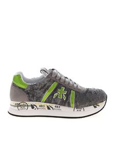 Premiata - Conny sneakers in grey sequins