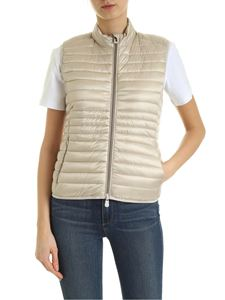 Save the duck - Quilted padded waistcoat in beige