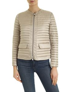 Save the duck - Beige quilted jacket with pockets