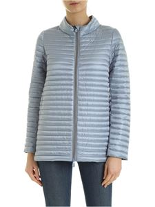 Save the duck - Quilted down jacket in light blue