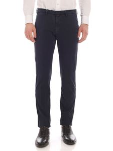 Briglia 1949 - Slim fit pants in faded blue