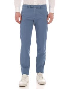 Briglia 1949 - Slim fit pants in pale blue