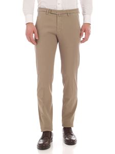 Briglia 1949 - Slim fit pants in beige